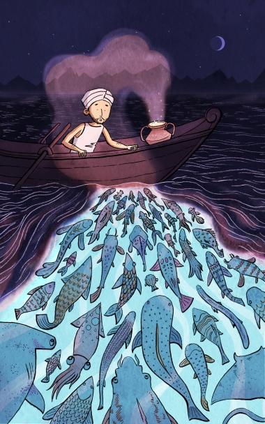 Fisherman_And_The_Genie